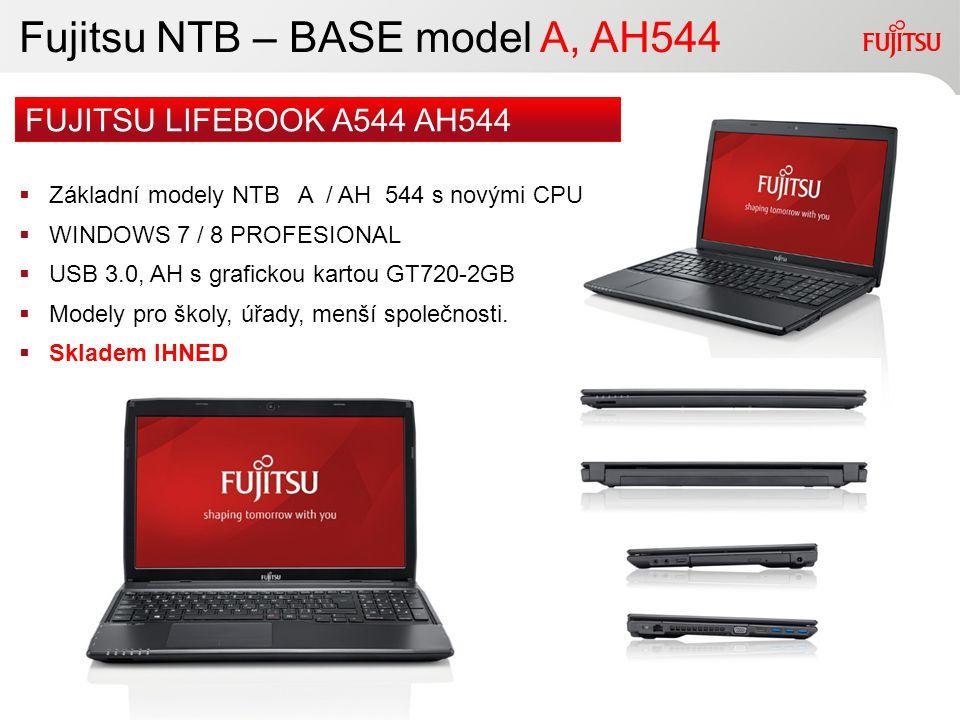Fujitsu NTB – BASE model A, AH544