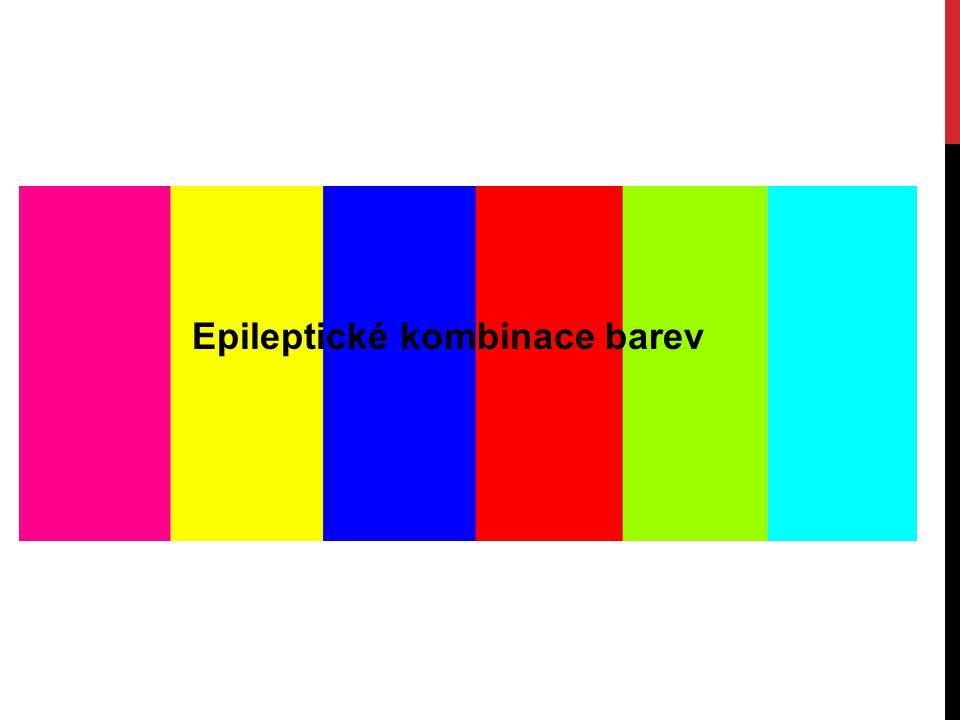 Epileptické kombinace barev