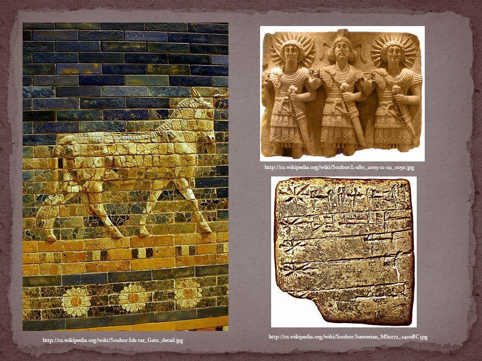 http://cs.wikipedia.org/wiki/Soubor:L-a80_2005-12-29_0050.jpg http://cs.wikipedia.org/wiki/Soubor:Sumerian_MS2272_2400BC.jpg.