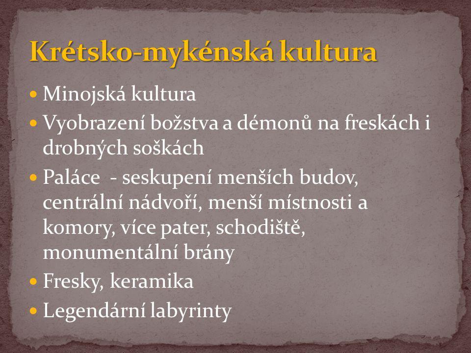 Krétsko-mykénská kultura