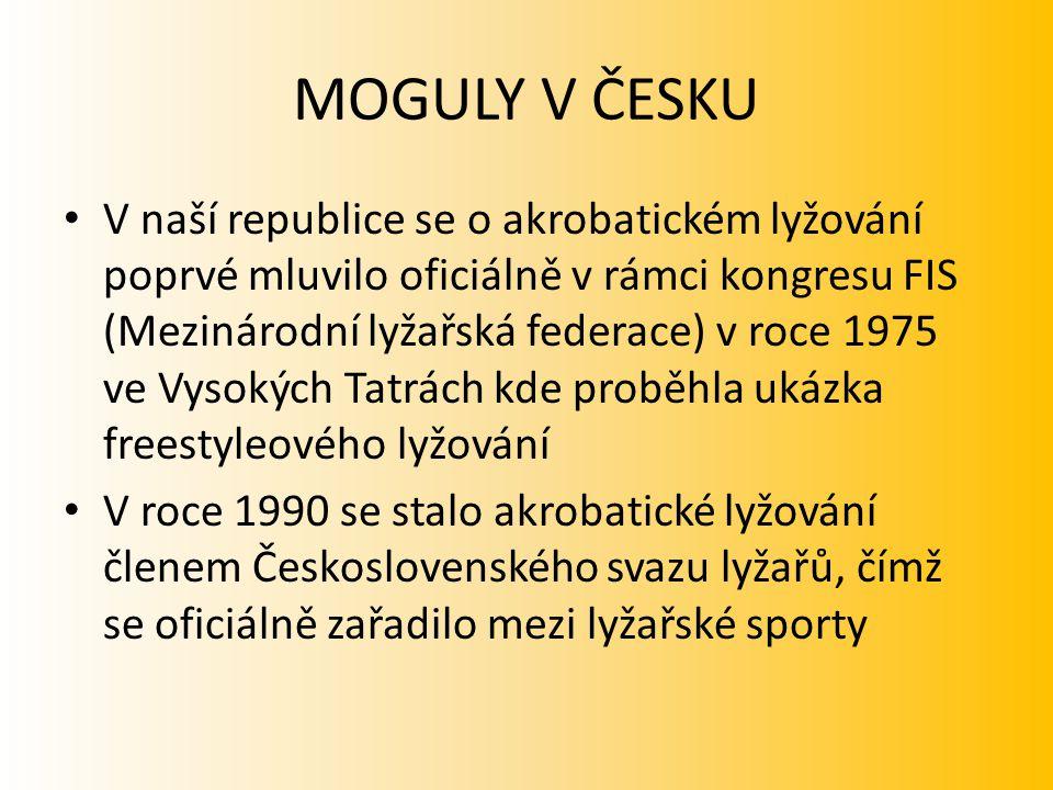 MOGULY V ČESKU