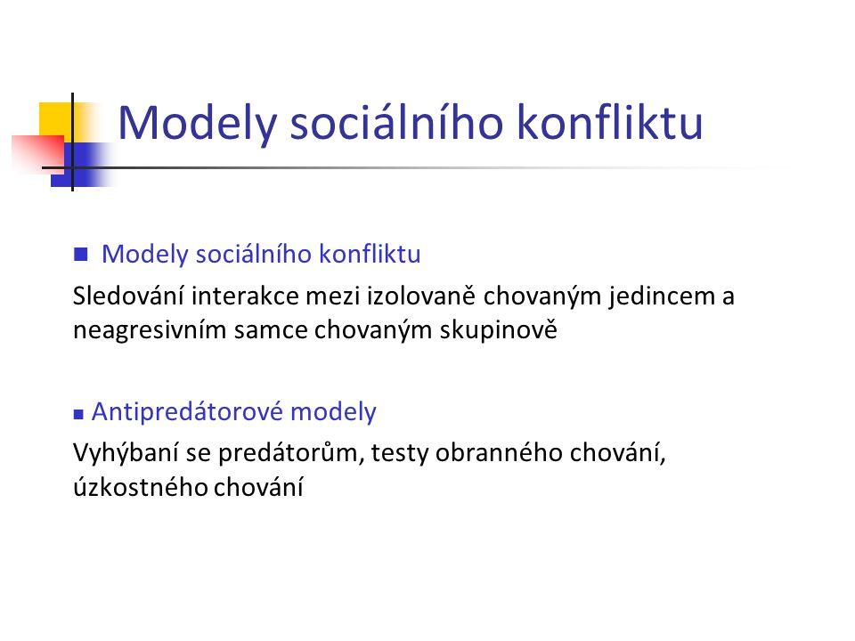 Modely sociálního konfliktu
