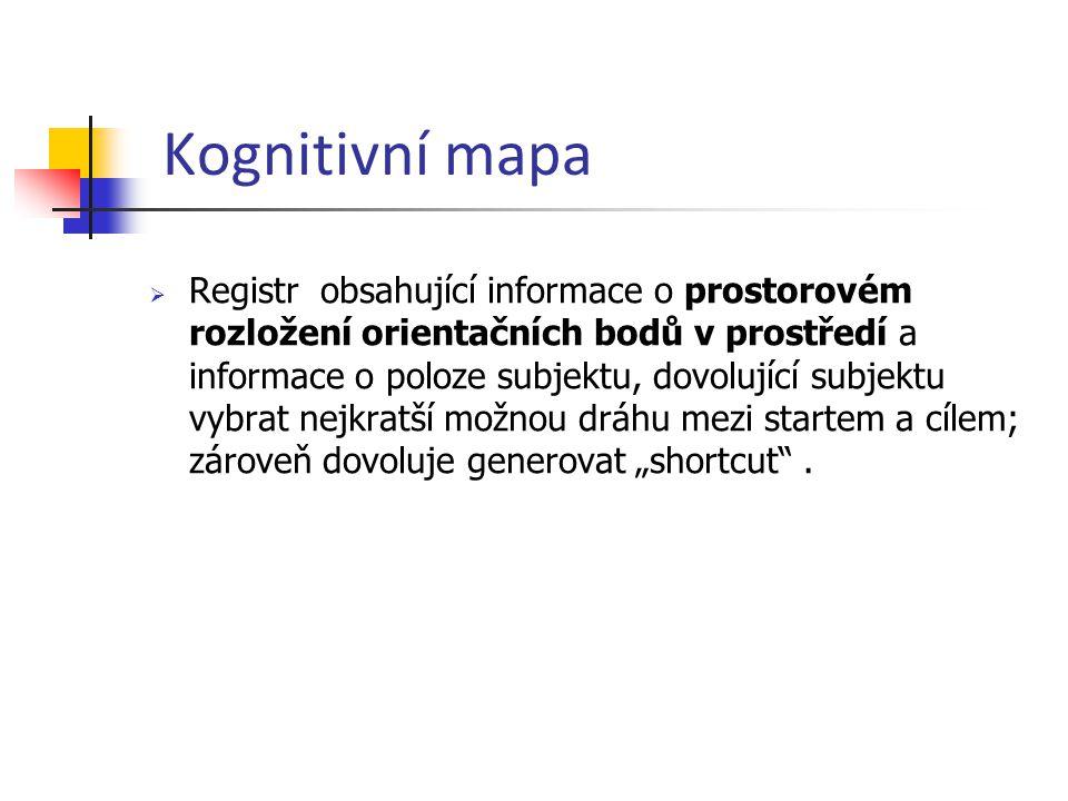 Kognitivní mapa
