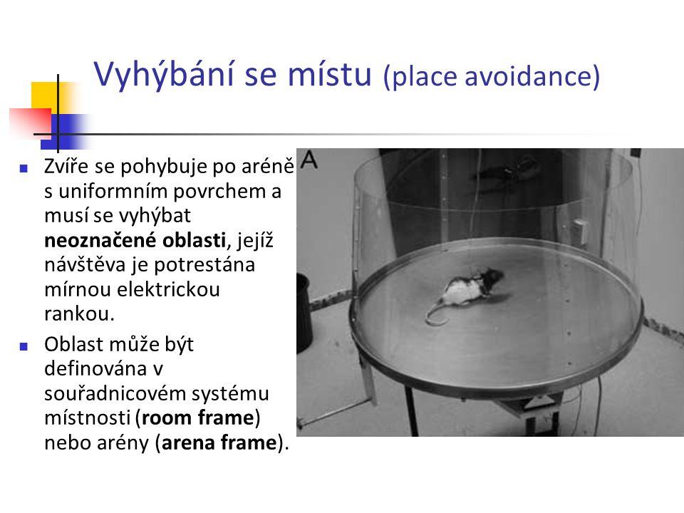 Vyhýbání se místu (place avoidance)