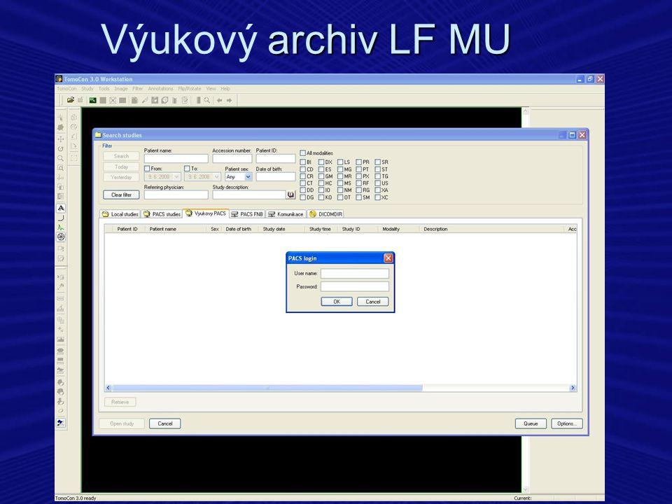 Výukový archiv LF MU