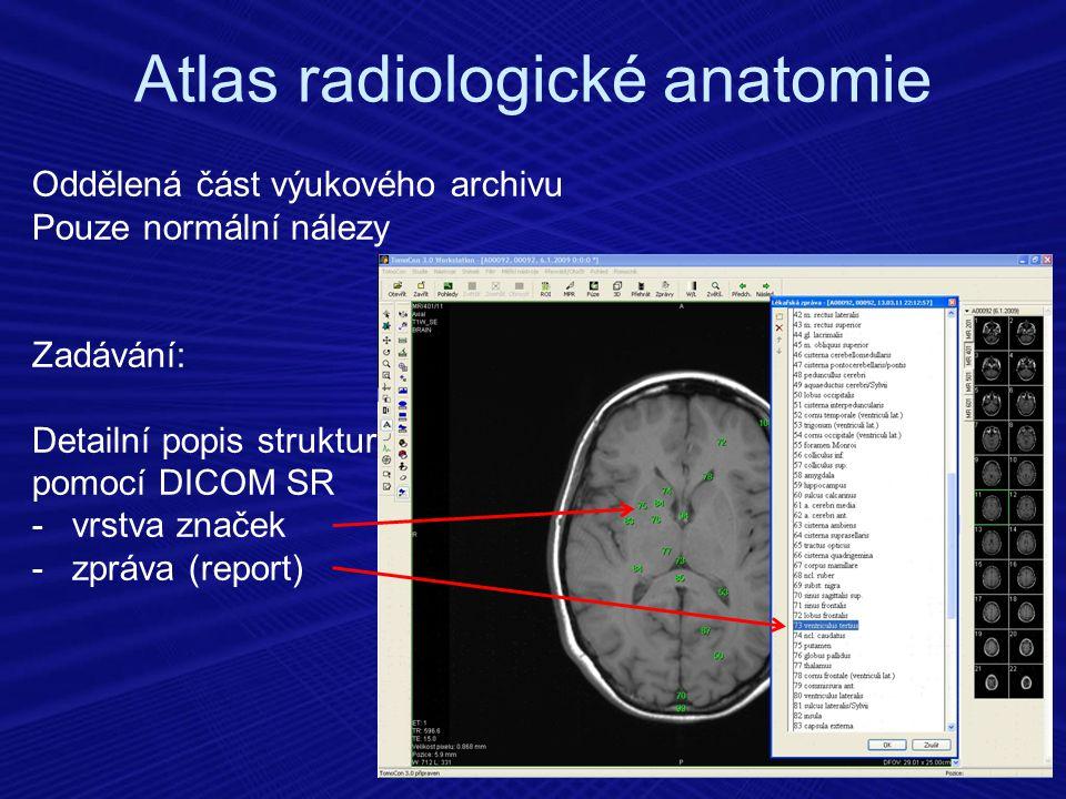 Atlas radiologické anatomie