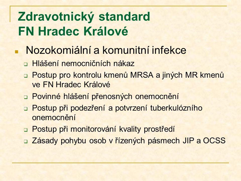 Zdravotnický standard FN Hradec Králové