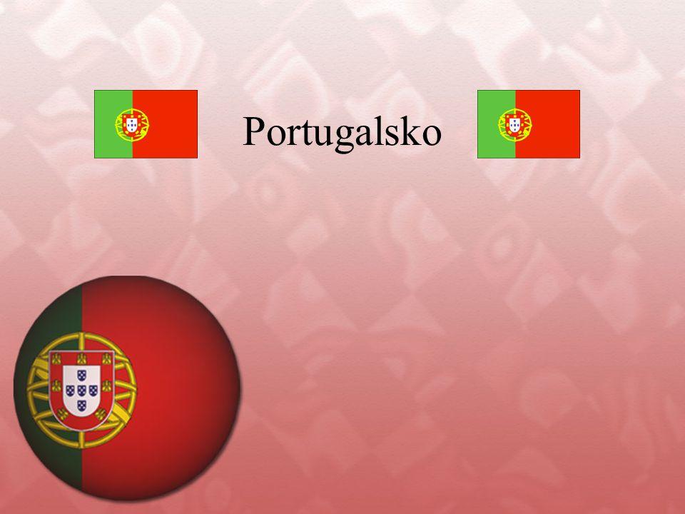 Portugalsko Dobrý den, mé jméno je Viktorie Žuganová a připravila jsem si pro vás prezentaci o Portugalsku.
