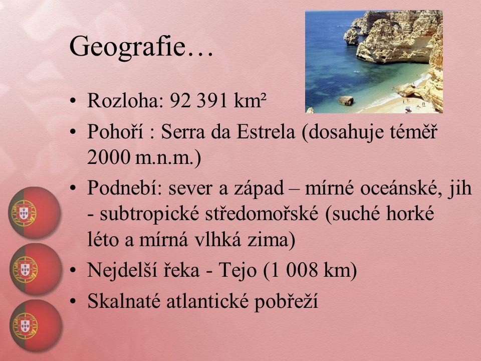 Geografie… Rozloha: 92 391 km²
