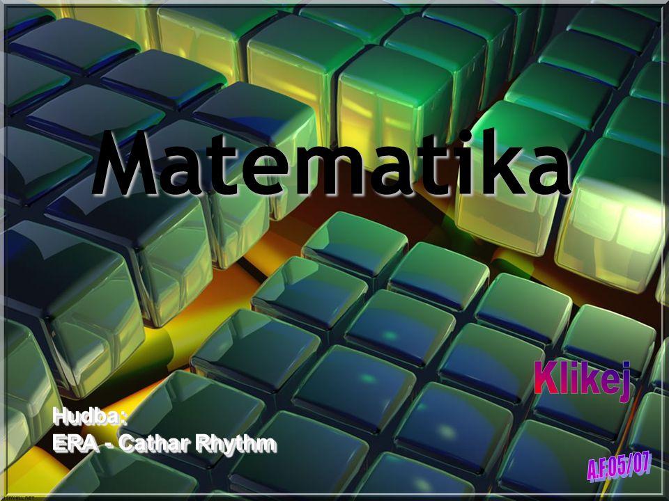 Matematika Klikej Hudba: ERA - Cathar Rhythm A.F.05/07