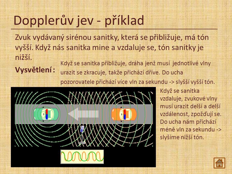 Dopplerův jev - příklad