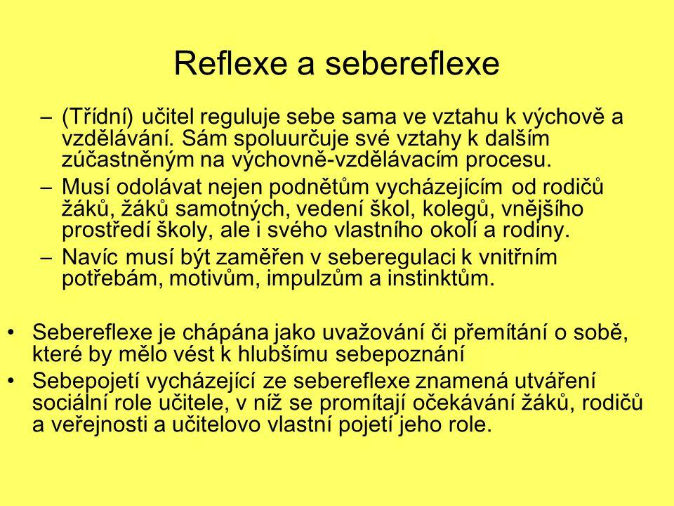 Reflexe a sebereflexe