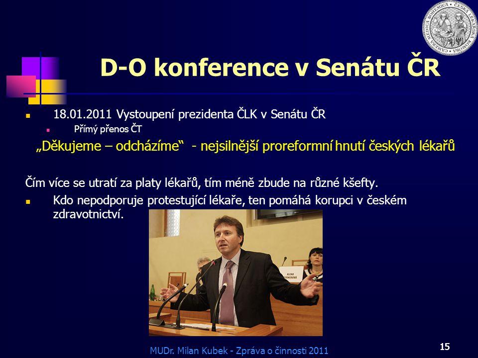 D-O konference v Senátu ČR