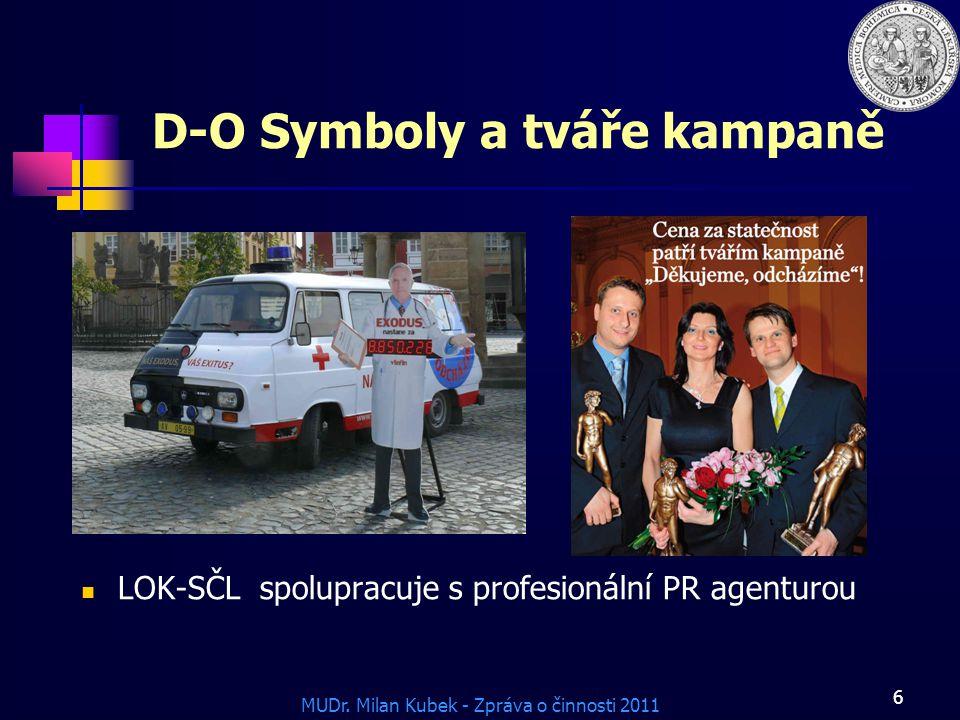 D-O Symboly a tváře kampaně