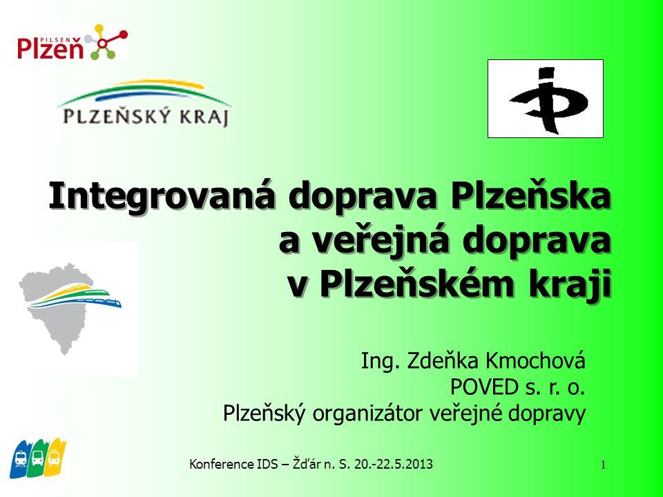 Integrovaná doprava Plzeňska a veřejná doprava v Plzeňském kraji