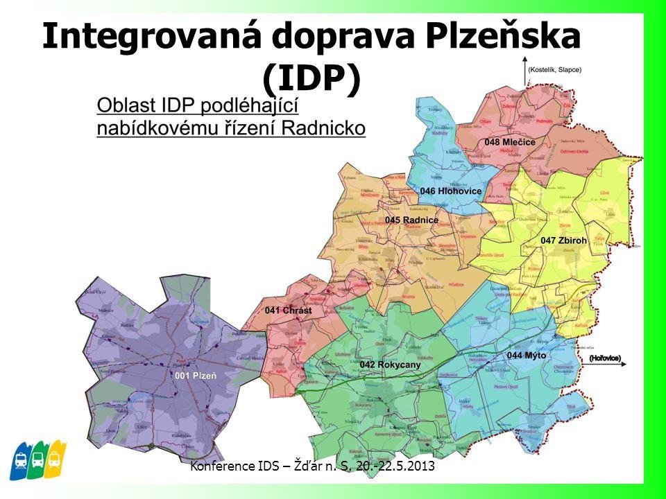 Integrovaná doprava Plzeňska (IDP)