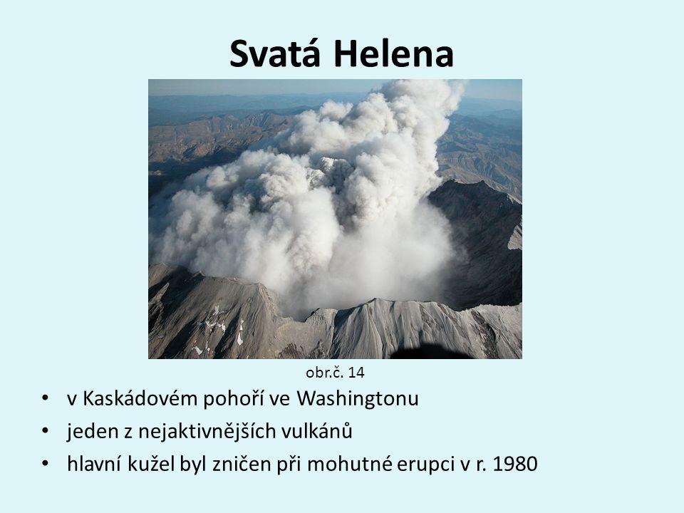 Svatá Helena v Kaskádovém pohoří ve Washingtonu