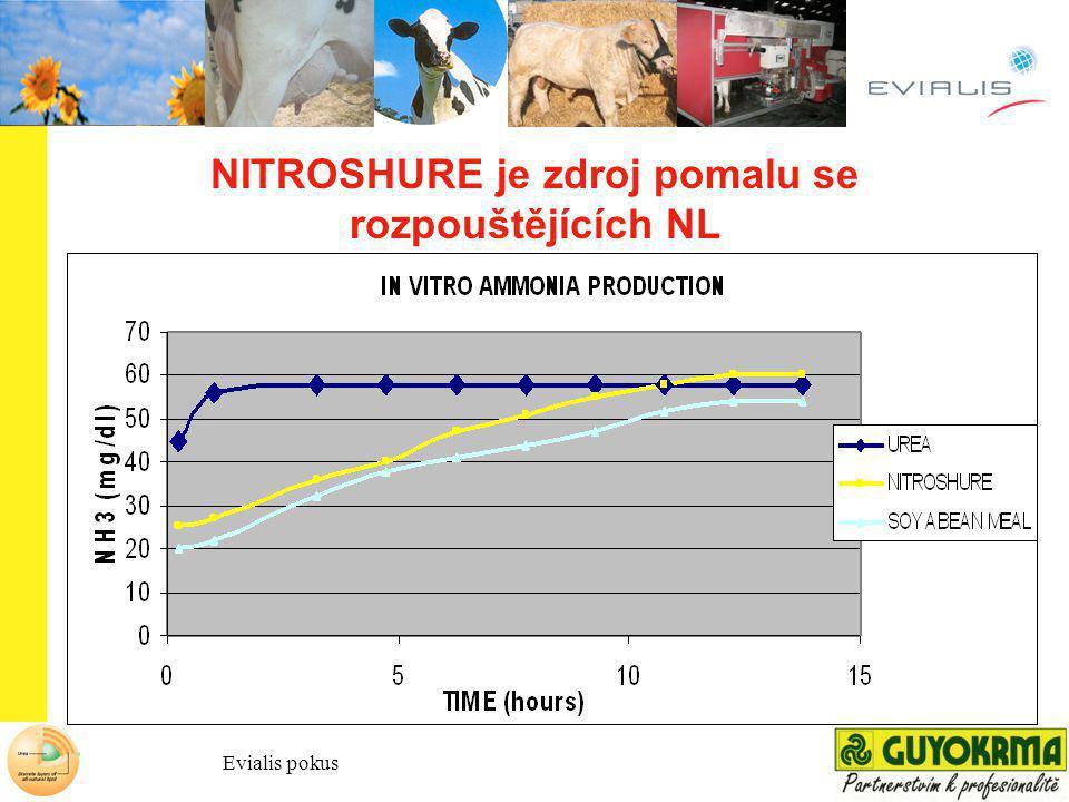 NITROSHURE je zdroj pomalu se rozpouštějících NL