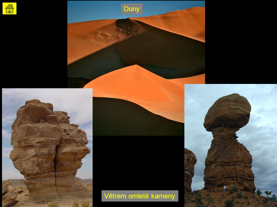 Duny Větrem omleté kameny