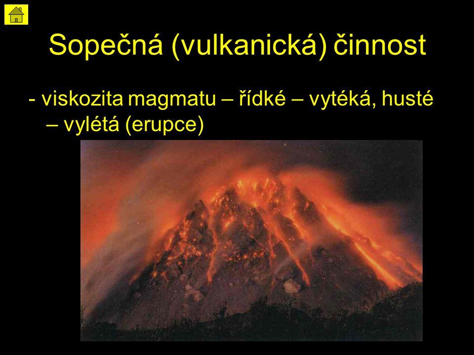 Sopečná (vulkanická) činnost