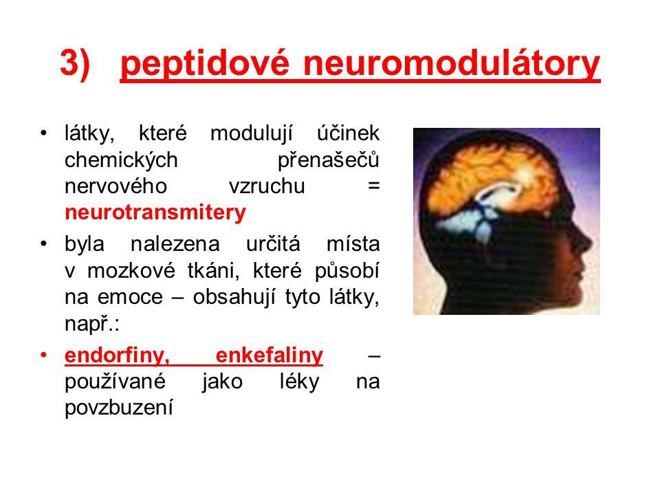 peptidové neuromodulátory
