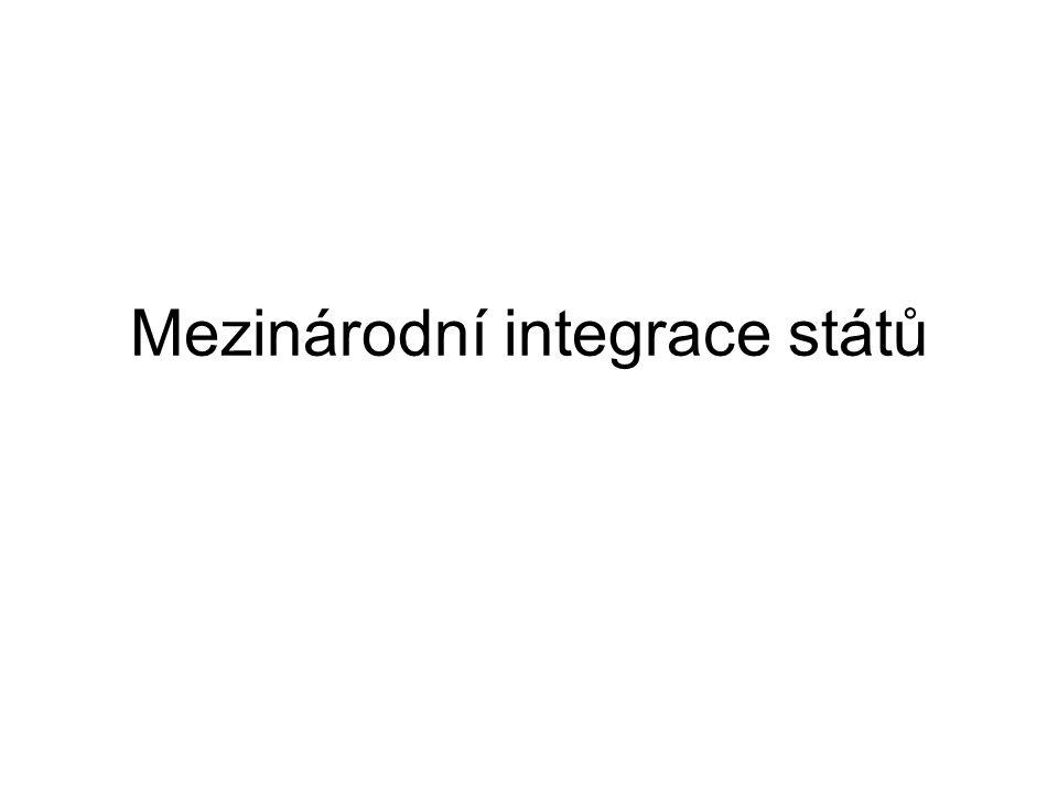 Mezinárodní integrace států