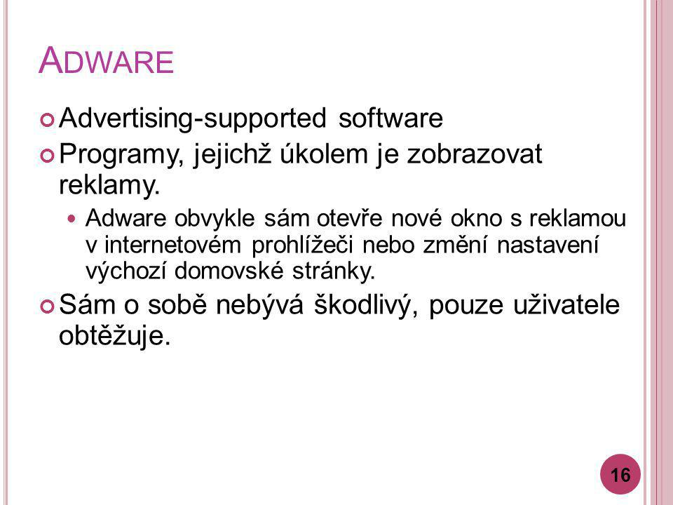 Adware Advertising-supported software