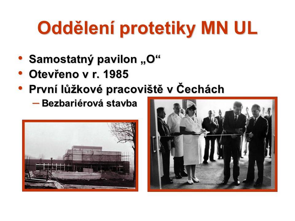 Oddělení protetiky MN UL