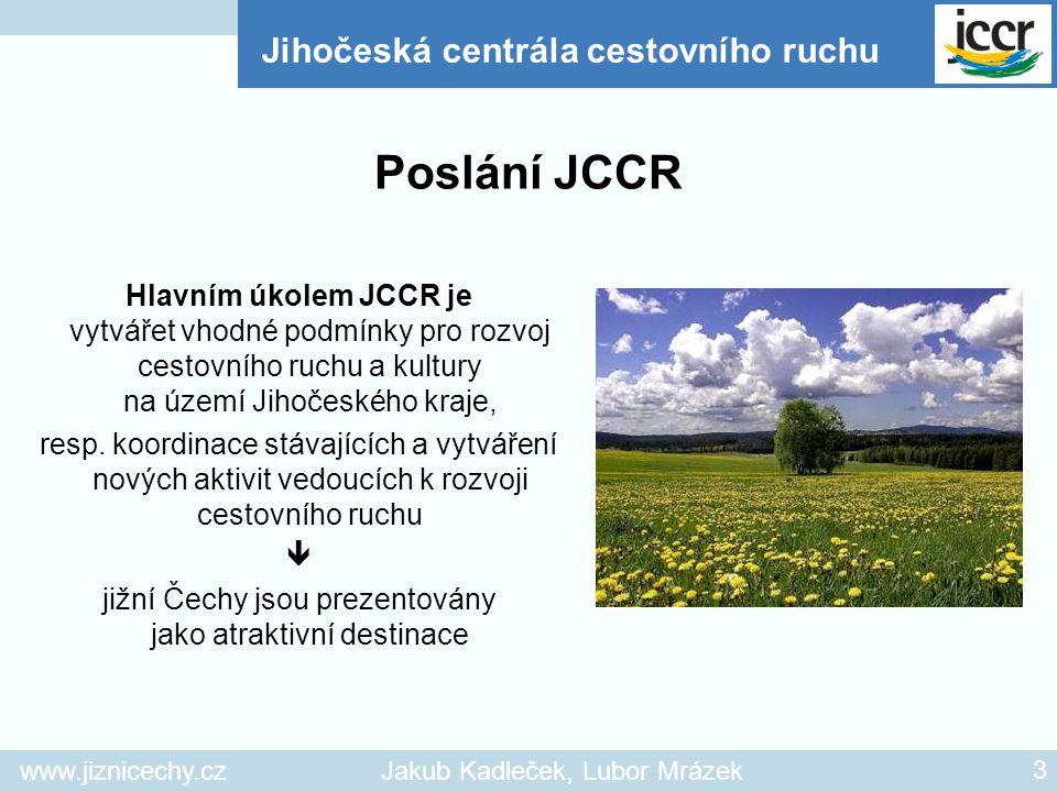 jižní Čechy jsou prezentovány jako atraktivní destinace