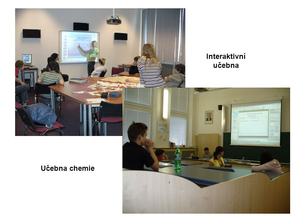 Interaktivní učebna Učebna chemie