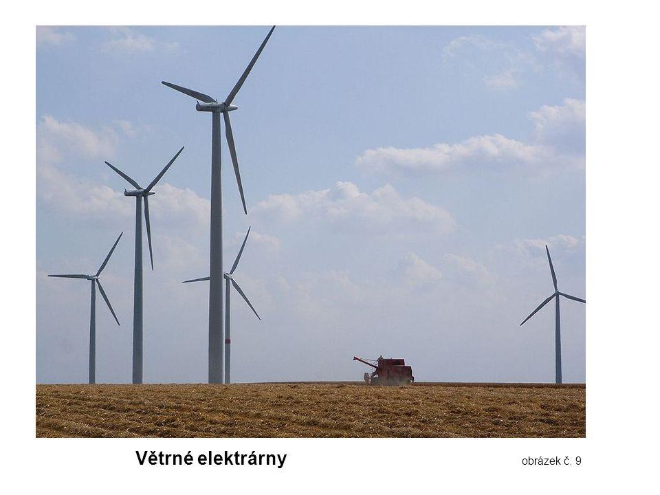 Větrné elektrárny obrázek č. 9