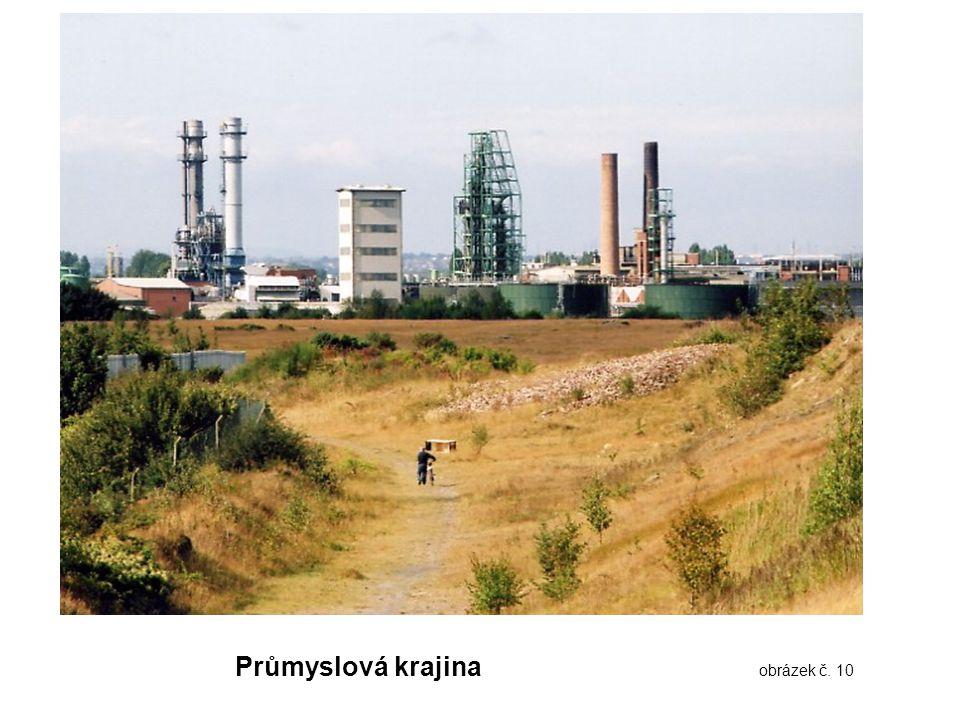 Průmyslová krajina obrázek č. 10