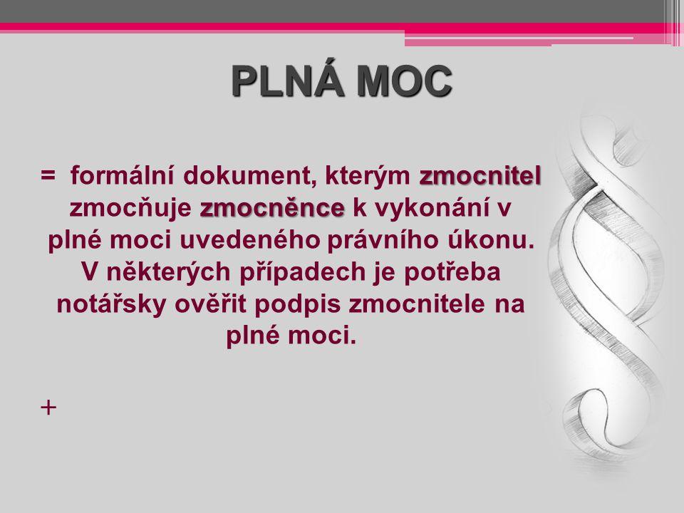 PLNÁ MOC