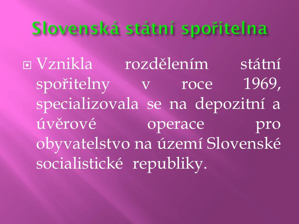 Slovenská státní spořitelna