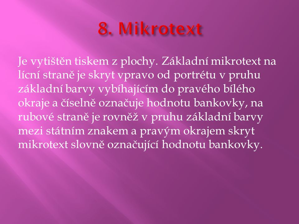 8. Mikrotext