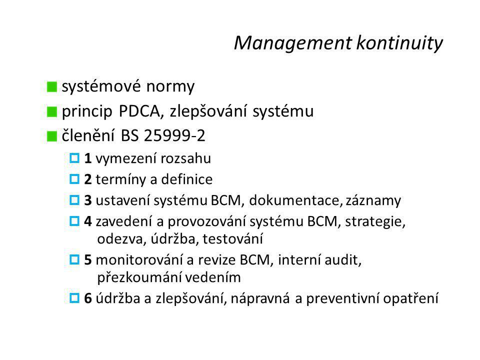 Management kontinuity
