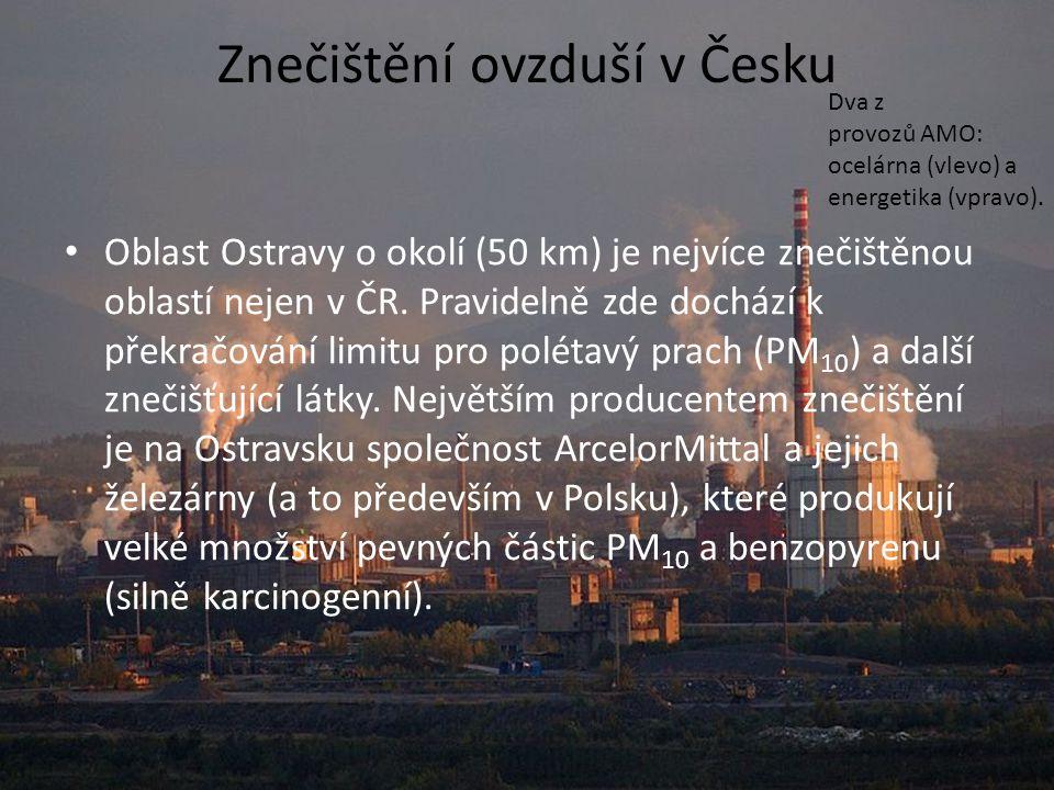 Znečištění ovzduší v Česku