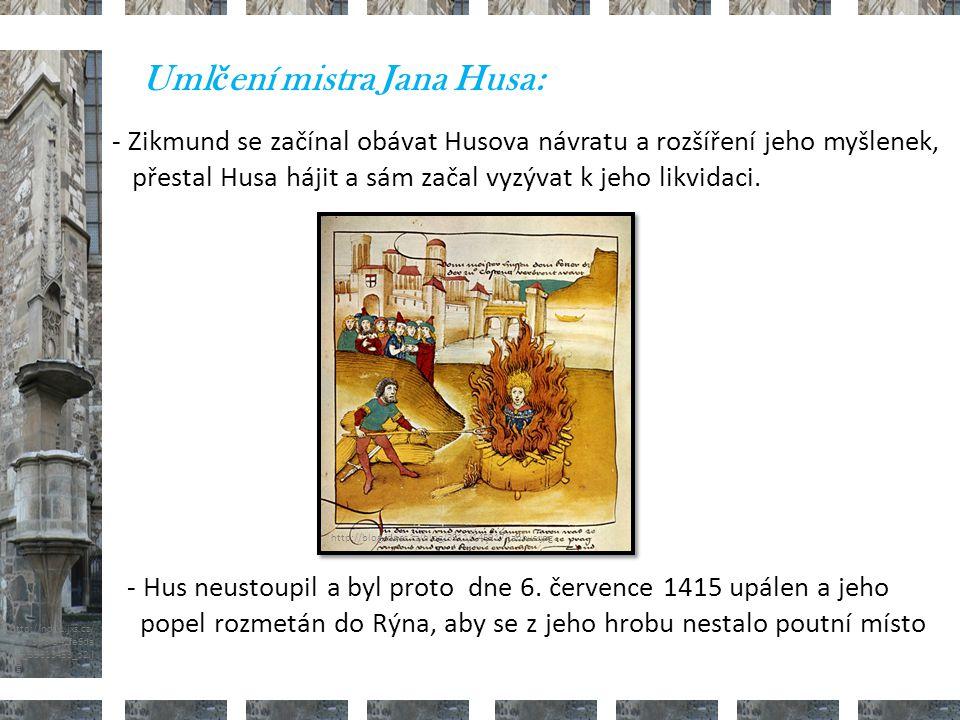 Umlčení mistra Jana Husa: