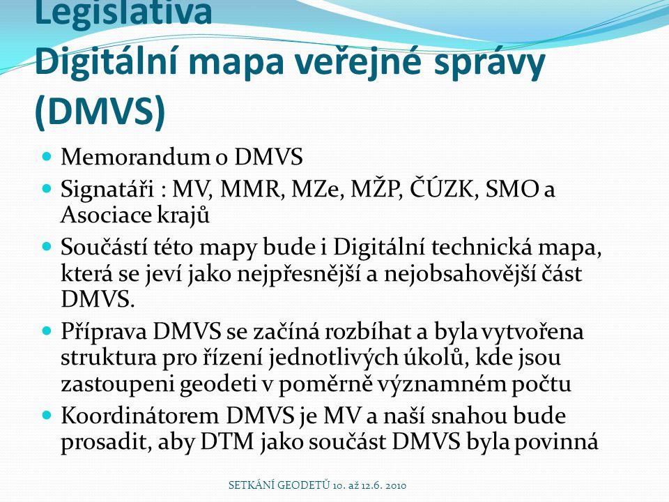 Legislativa Digitální mapa veřejné správy (DMVS)