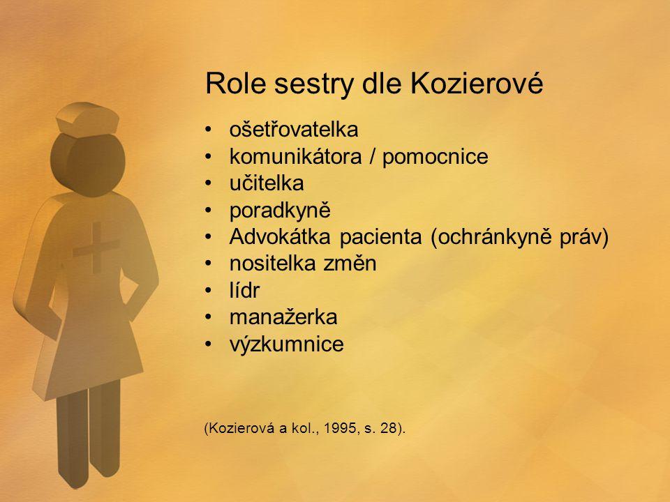 Role sestry dle Kozierové