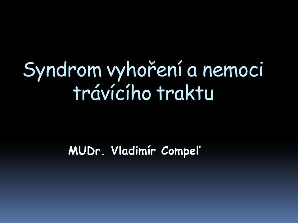 Syndrom vyhoření a nemoci trávícího traktu