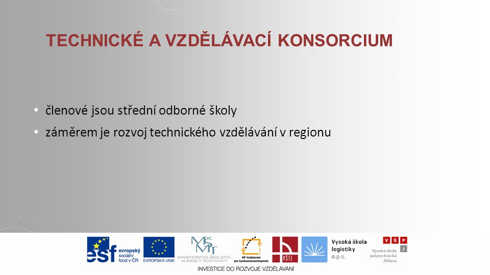 Technické a vzdělávací konsorcium