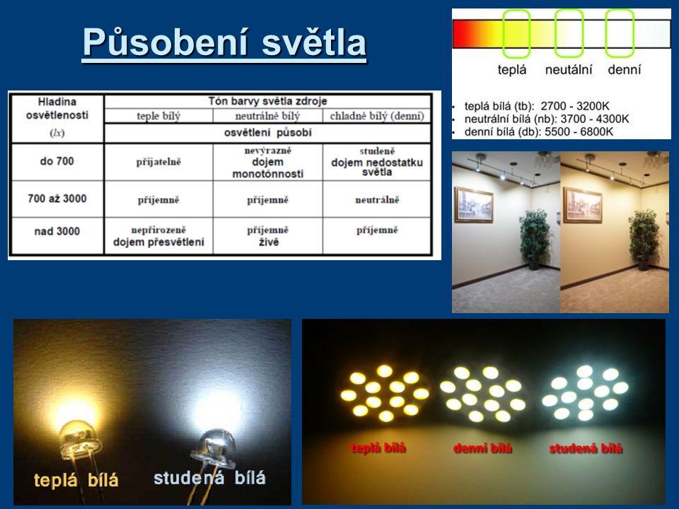 Působení světla