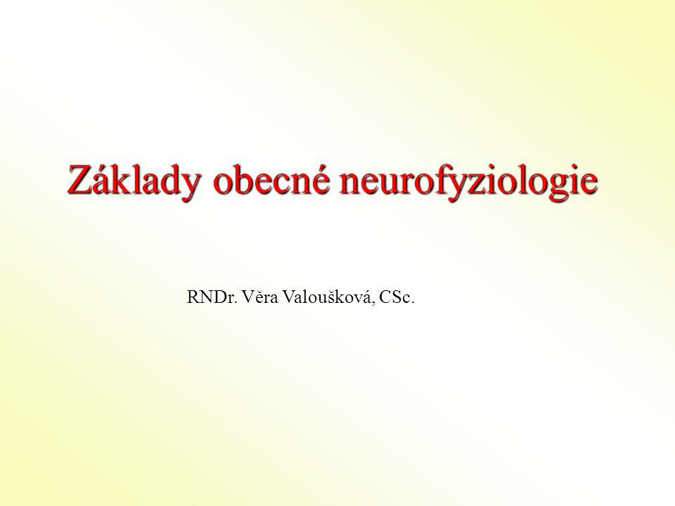 Základy obecné neurofyziologie