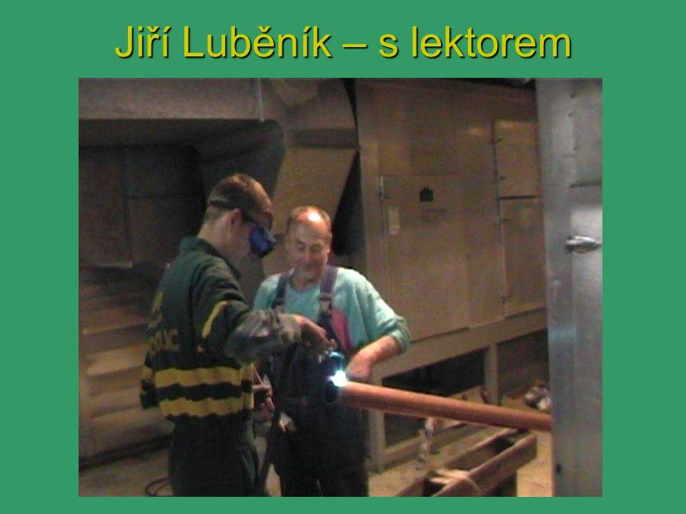 Jiří Luběník – s lektorem