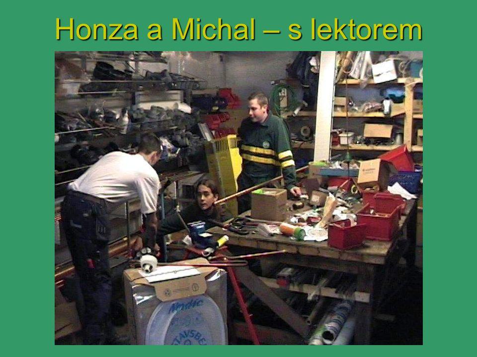Honza a Michal – s lektorem