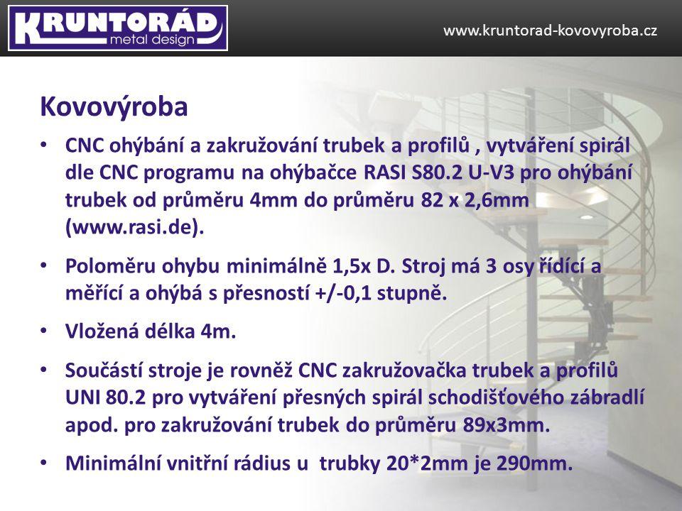 www.kruntorad-kovovyroba.cz Kovovýroba.