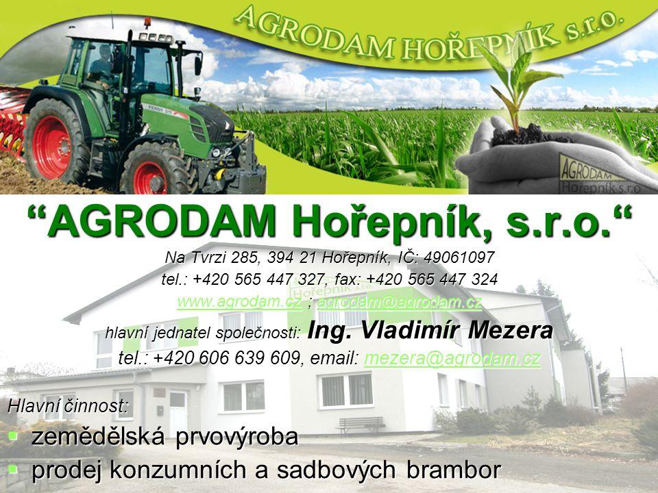 AGRODAM Hořepník, s.r.o.