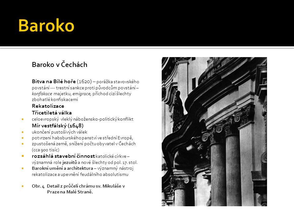 Baroko Baroko v Čechách