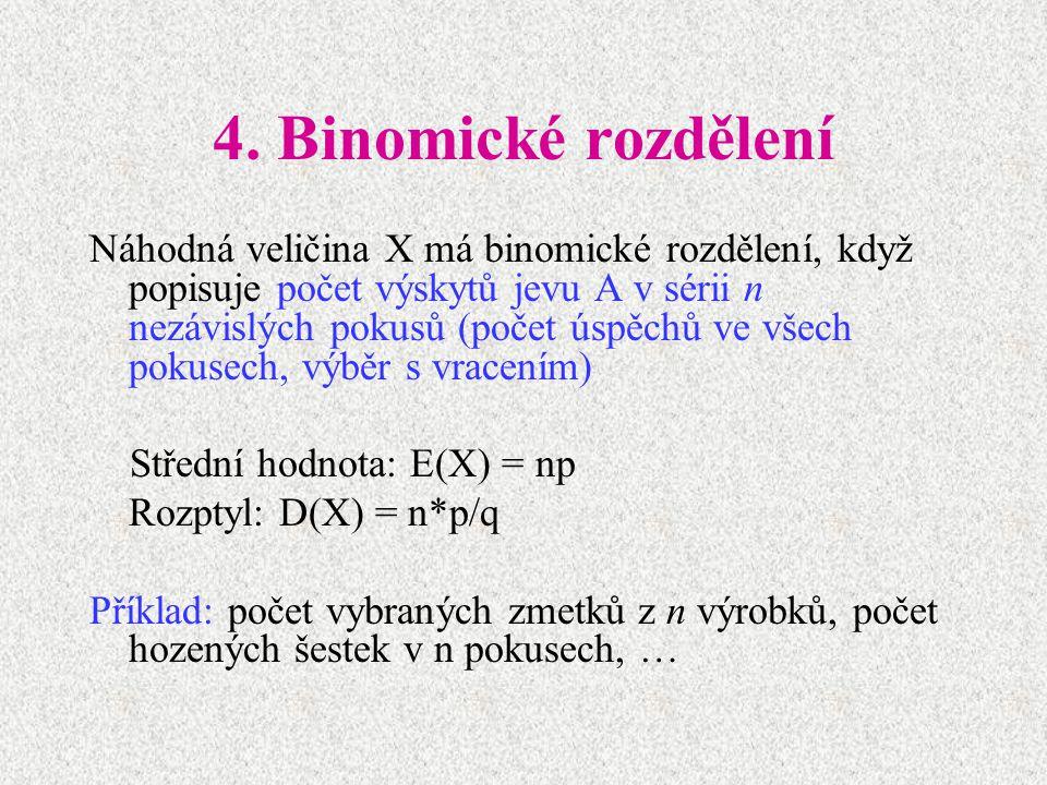 4. Binomické rozdělení
